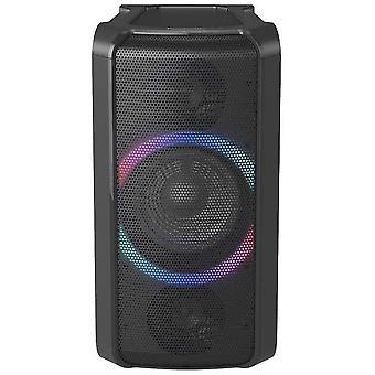 HanFei SC-TMAX5 Party Lautsprecher mit Bluetooth (Wireless Charging, Lichteffekte, Powerbankbetrieb,