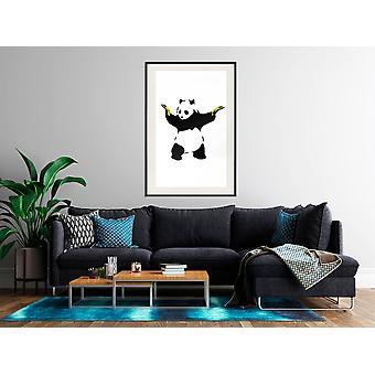 Poster - Banksy: Panda With Guns-40x60