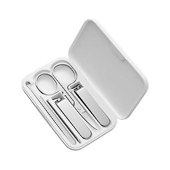 Stainless Steel Nail Cutter Clippers Pedicure Set