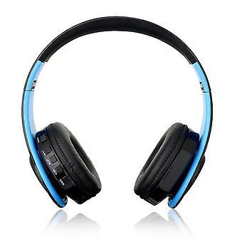 Sammenleggbar trådløs BT Over Ear Headset MP3-spiller