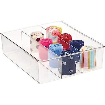 HanFei Aufbewahrungsbox mit 3 Fchern & praktische Schrankbox fr das Schlafzimmer &