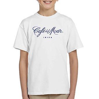 Cafe del Mar Classic Blue Logo Kid's T-Shirt