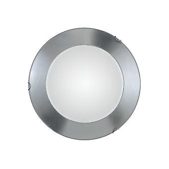 Kolarz MOON - Livsstil Enkel Flush Taklampe Chrome, 2x E27
