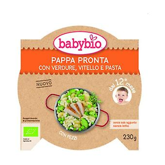 Ready Pappa with Vegetables, Veal and Pasta 230 g
