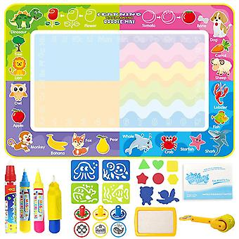 Magic doodle mat educational kids water drawing toys gift kt-1