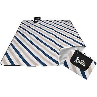 Picknickmatta 200x180 cm – Gråblå – Värmeisolerande