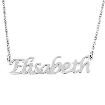 KL Kigu Elisabeth - Women's necklace with custom name, trendy jewelry, gift for girlfriend, mom, sister