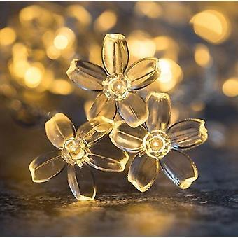 Led Snowflake Decoration Creative String Fairy Light