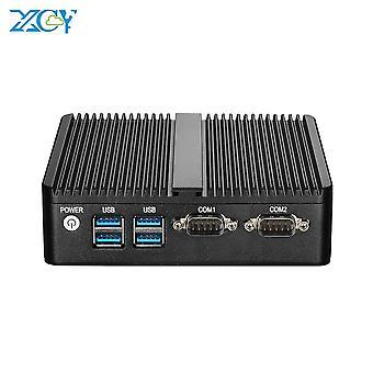 Xcy Mini Pc Quad Cores Intel Celeron J4105 Windows Linux Ddr4 Msata Ssd 300m