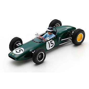 Lotus 21 No.15 3rd Place Jim Clark (nederlandsk GP 1961) Diecast-modell