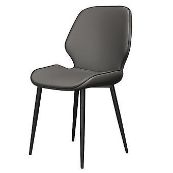 Luxuriöser Speisestuhl, Rückenlehne Schmiedeeisen, Casual Chairs