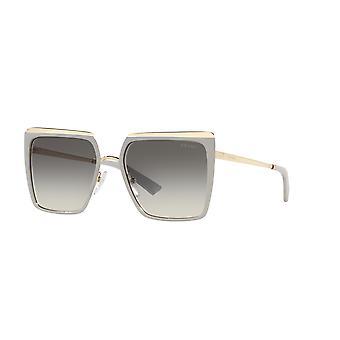 Prada SPR58W 04R130 Okulary przeciwsłoneczne Ice-Pale Gold/Grey Gradient