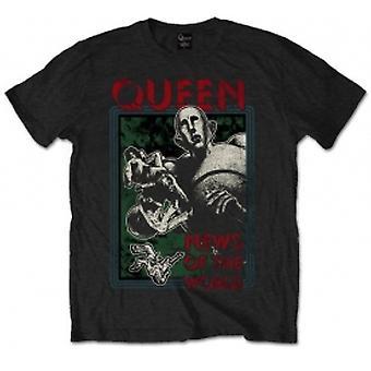 Dronning NOTW Svart Mens T Skjorte: Liten