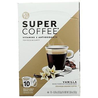 Kitu Coffee K Cup Vanilla, Case of 6 X 10 Each