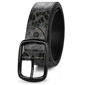Grå b s 115cm imitert knitrende leopard belte mote personlighet all-match belte homi2923