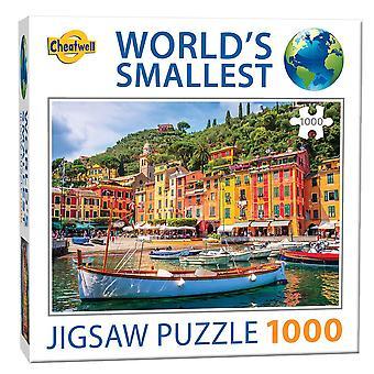 World's Smallest Jigsaw Puzzle - Portofino (1000 Pieces)