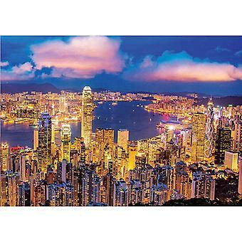 Educa Neon Hong Kong  Jigsaw Puzzle (1000 Pieces)