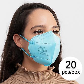واقية قناع الجهاز التنفسي FFP2 NR JS MY-001 سيليست (حزمة من 20)