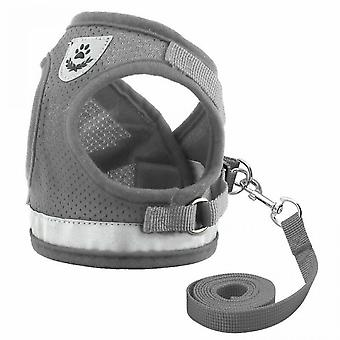 Cat Sling With Leash Is Drop-resistant, Reflective, Adjustable, Padded