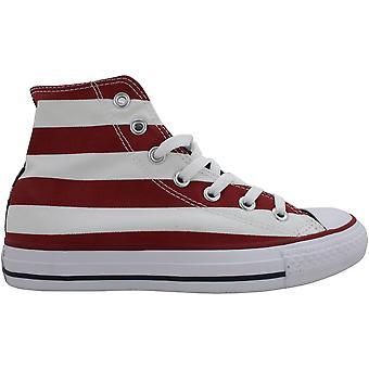كونفيرس تشاك تايلور كل النجوم مرحبا الأحمر / الأبيض / الأزرق M8437 الرجال