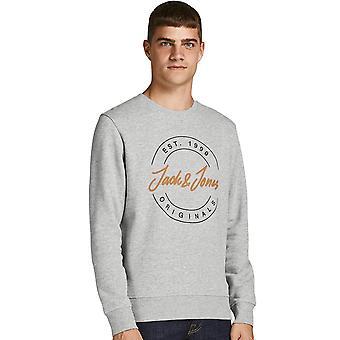 Jack & Jones Mens Jorjerry Crew Neck Sweatshirt