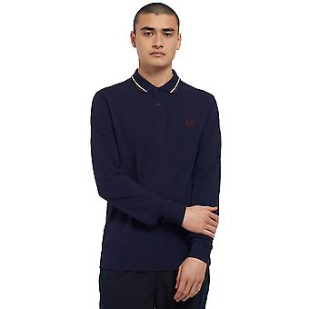 Fred Perry Men's Μ3636 Twin Tipped Polo T-Shirt Regular Fit
