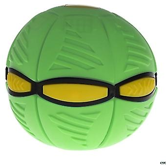 Vliegende UFO flat throw disc bal met LED licht speelgoed kid outdoor tuin basketbal spel| Speelgoed sport