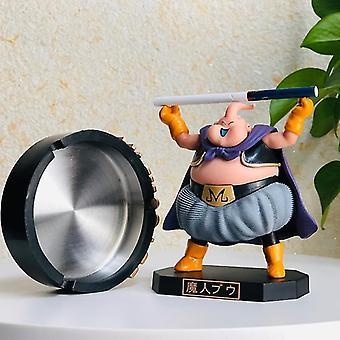 Ashtrays majin buu ashtray anime figures toys model fat buu action cutetoys doll christmas gift