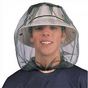 Midge Mosquito Insect Hat Bug Mesh Head Net Face Protector Travel Camping