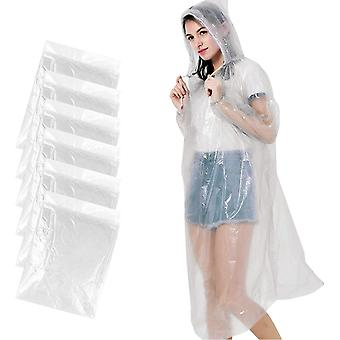 Disposable Rain Poncho, Portable Waterproof Pe Materia