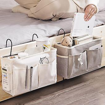 متعددة الوظائف كبيرة القدرة السرير التخزين شنقا كيس السرير طاولة سلة السرير منظم الجرف شنقا حقيبة
