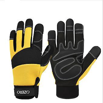 Zahradní rukavice Sportovní jezdecké rukavice Venkovní rukavice Dotykové obrazovky Rukavice pracovní rukavice Protiskluzové rukavice odolné proti opotřebení Žluté