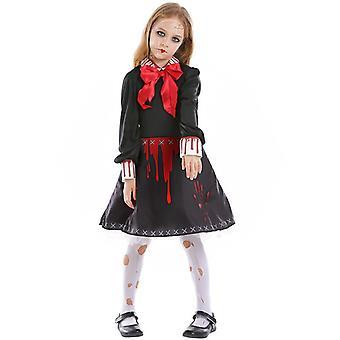 Girl Bloody Voodoo Doll Scary Halloween Costume
