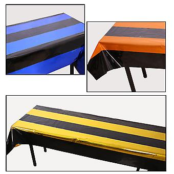 4pcs Halloween Tablecloth Table Flag Party Decoration Props Indoor Party Table Layout