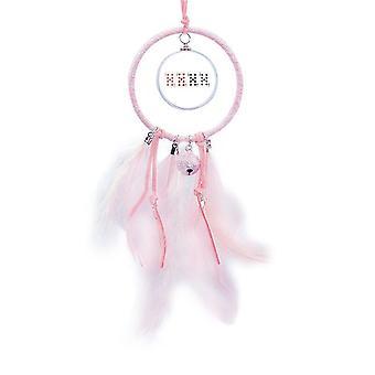 9 hjerte spade diamant klubb mønster drøm catcher liten klokke soverom dekor
