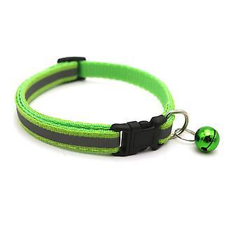 Reflektierendes Katzenhalsband mit Glocke, verstellbare Breakway-Sicherheit Neugeborenenhalsbänder für Welpen- oder Kätzchenhalsbänder
