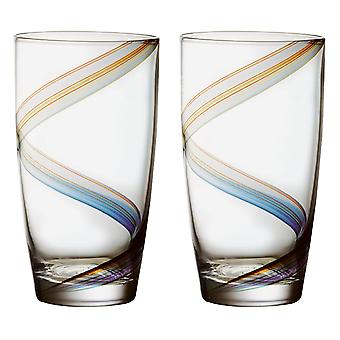 Anton Studio Arc Highball Glasses, Set of 2