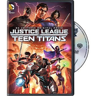 Liga da justiça vs Titãs [DVD] EUA importar