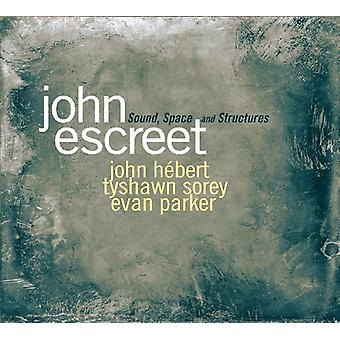 John Escreet - Sound Shapes & Structures [CD] USA import