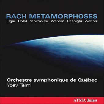 J.S. Bach - Bach M Tamorphoses: Stokowski, Walton, Holst, Elgar, Talmi, Webern, Respighi [CD] USA import