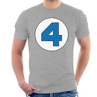 4 Logo fantastique T-Shirt homme