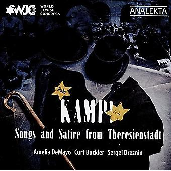 Demayo, Amelia / Buckler, Curt / Dreznin, Sergei - Kamp Songs and Satire From Theresienstadt [CD] USA import