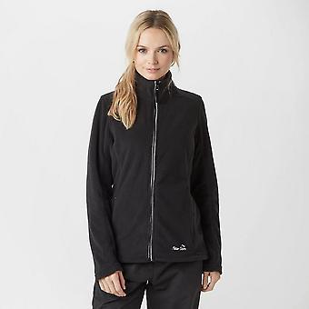 New Peter Storm Women's Grace II Full Zip Fleece Black