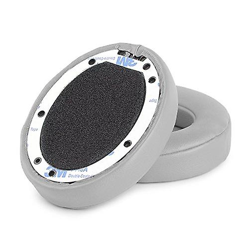 REYTID Replacement Grey Ear Pad Cushion Kit Compatible with Beats By Dr. Dre Solo2 & Solo2 Wireless Headphones