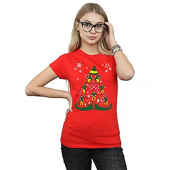 Elf Women's Christmas Tree T-Shirt