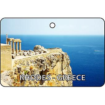Rhodes - Greece Car Air Freshener