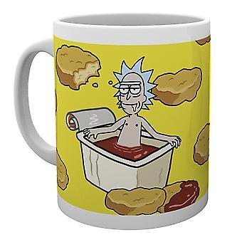 Rick and Morty McNugget Sauce Mug