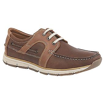 Zwervende Superlight mens 3 Eye schort tab Moccasin Leisure schoenen