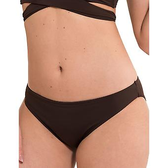 LingaDore 2911B-146 Women's Journey Espresso Brown Solid Colour Swimwear Beachwear Bikini Bottom