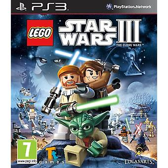 LEGO Star Wars 3 The Clone Wars (PS3) - Factory Sealed